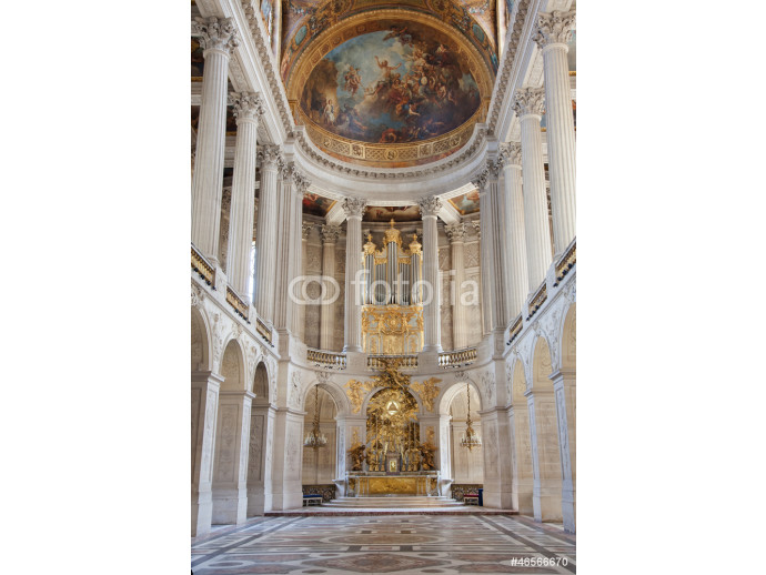 Church where he married Marie Antoinette and Louis XVI- Palace o 64238