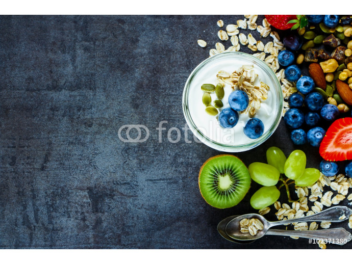 Fotomural decorativo Fresh fruit smoothies 64238