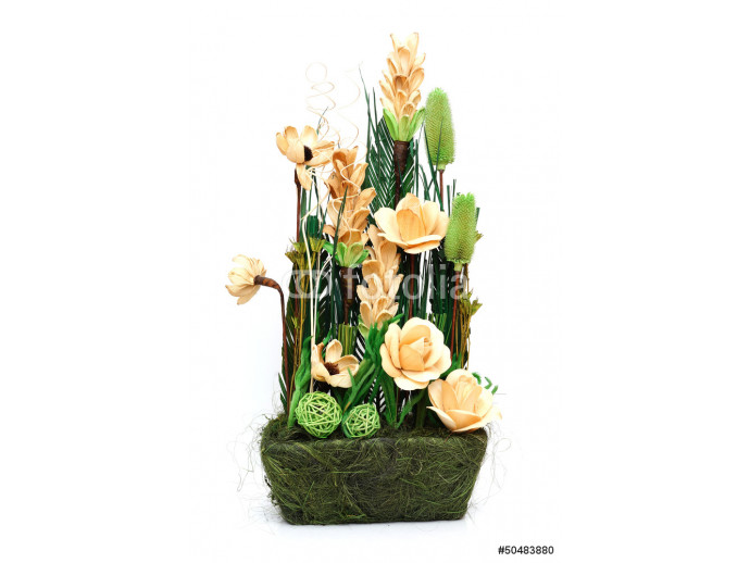 arrangement of dried flowers 64238
