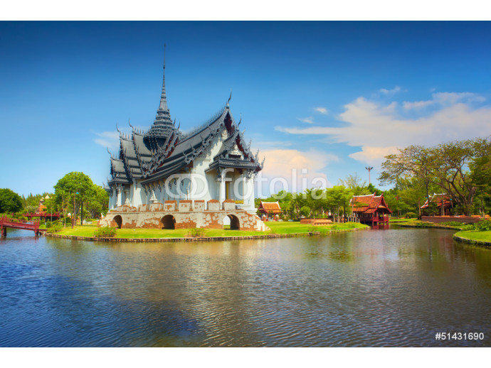 Temple on water 64238