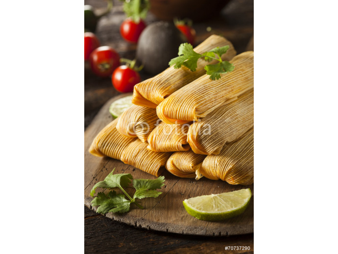 Homemade Corn and Chicken Tamales 64238