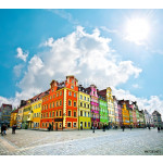 Wroclaw City center, Market Square tenements 64238
