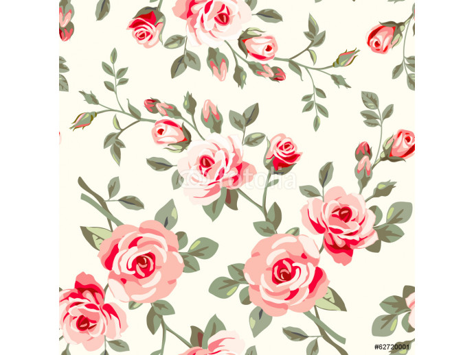 Pattern with roses 64238