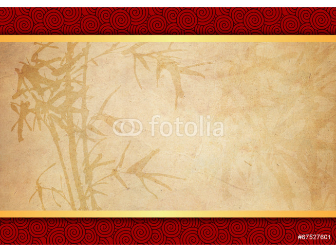 Oriental bamboo pattern background 64238