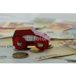 red car and money 64238