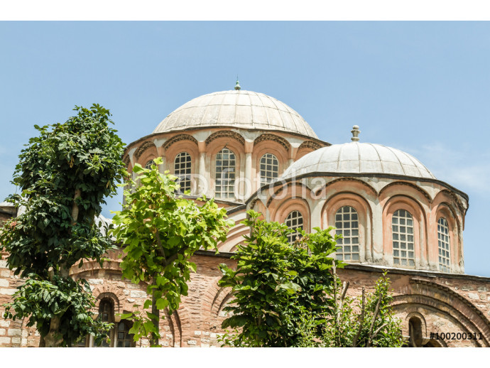 Exterior of Chora Church, Ancient Byzantine Church in Istanbul, 64238