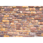 hand made rustic rock wall 64238