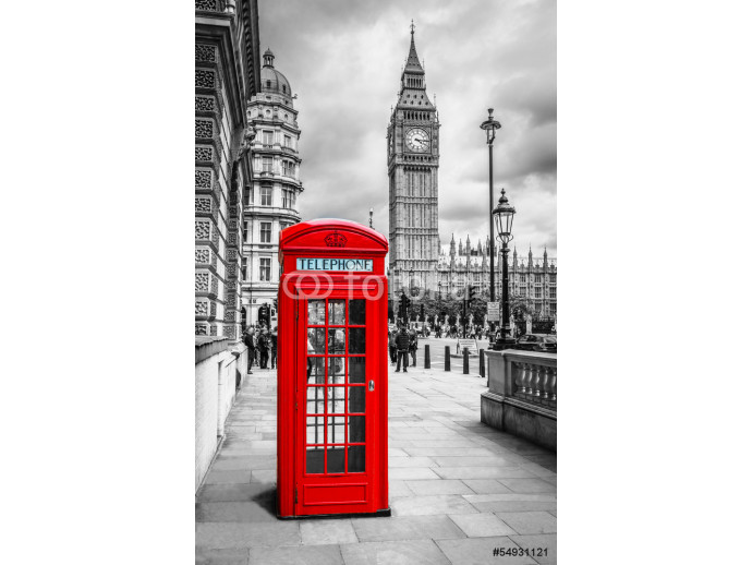 London Telephone Booth 64238