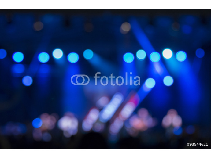 Defocused stage lights and crowd on a concert      64238