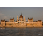 The parliament in sunset (Budapest, Hungary) 64238