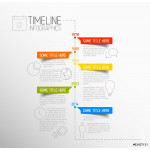 Infographic timeline report template 64238