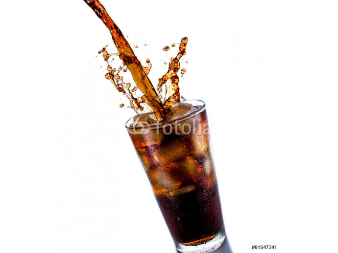 Cola with ice 64238