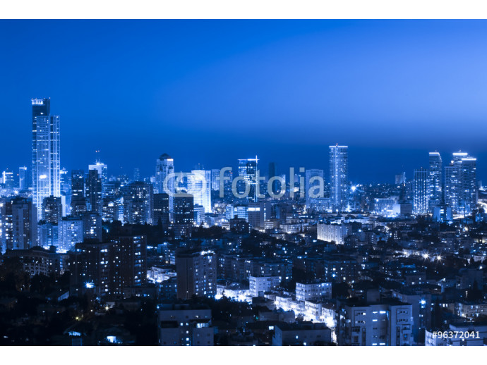 Cityscape at night 64238