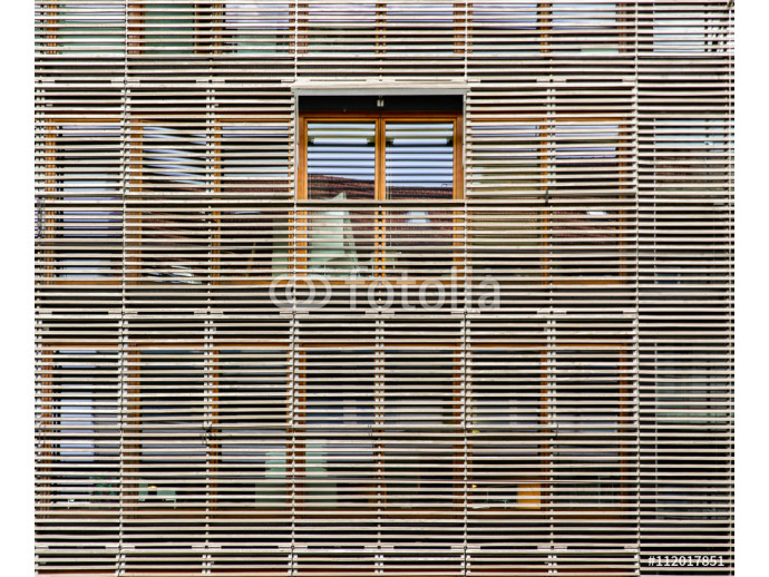 Fototapeta Modern Building Walls and Windows 64238