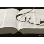 Dictionary and eye-glasses 64238