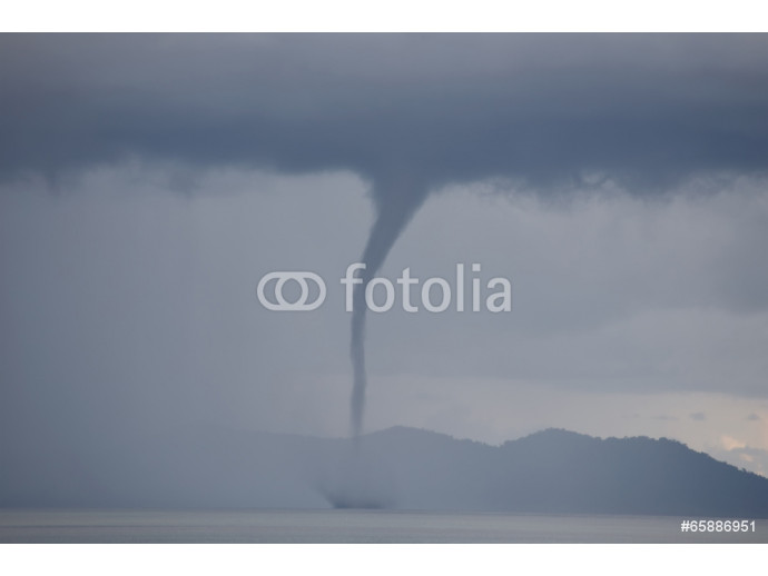 Waterspout on the ocean 64238
