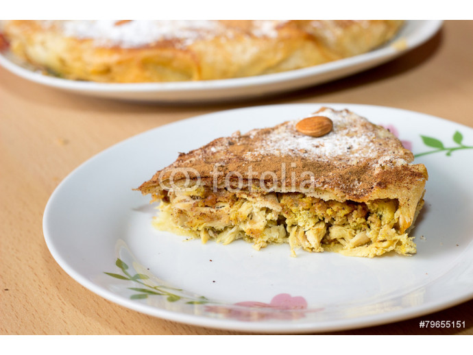 Chicken Bastilla. 64238
