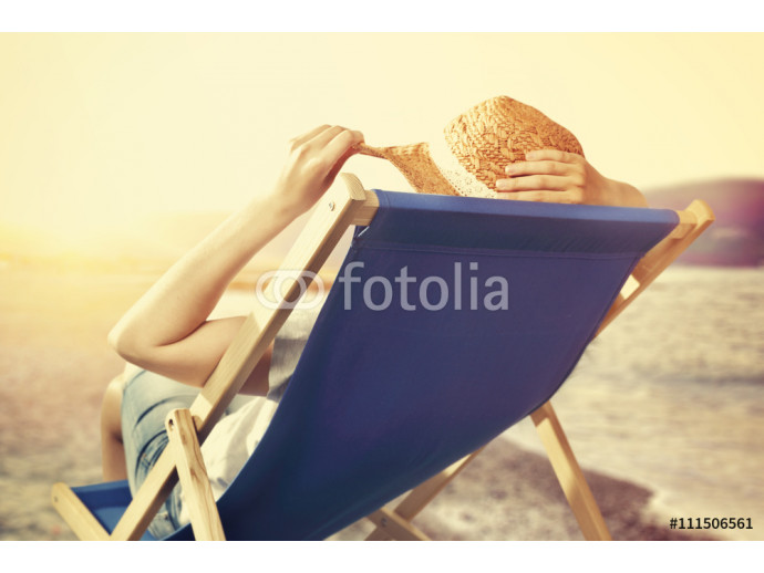 summer time and woman on chair 64238