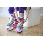young woman wearing kangoo jumps boots 64238