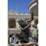 Details of a fountain with sea dragons 64238
