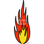 Pictogramme flamme 64238