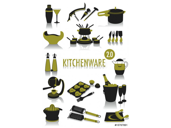 Kitchenware silhouettes 2.0 64238