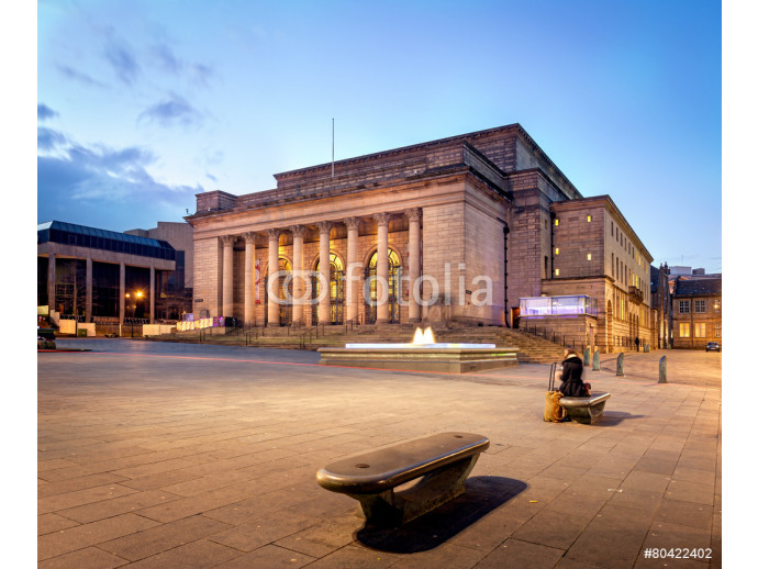 Building of Sheffield city Hall, UK 64238