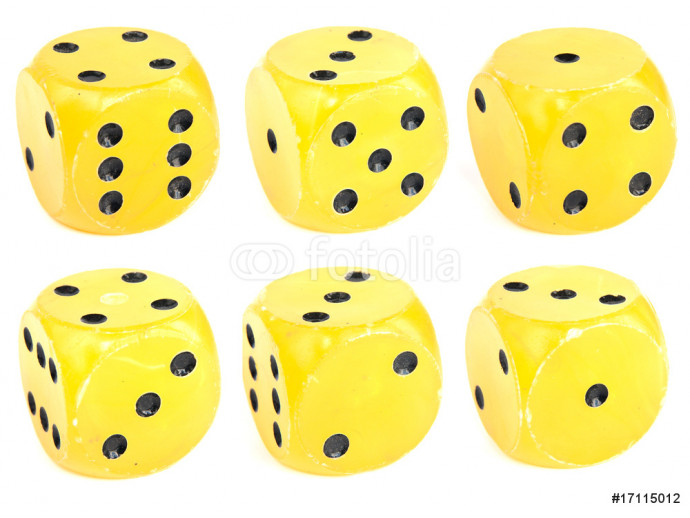 Dice isolated 64238