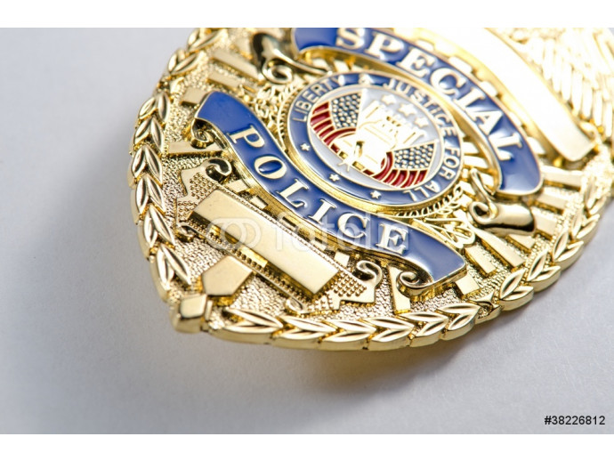 Police Badge 64238