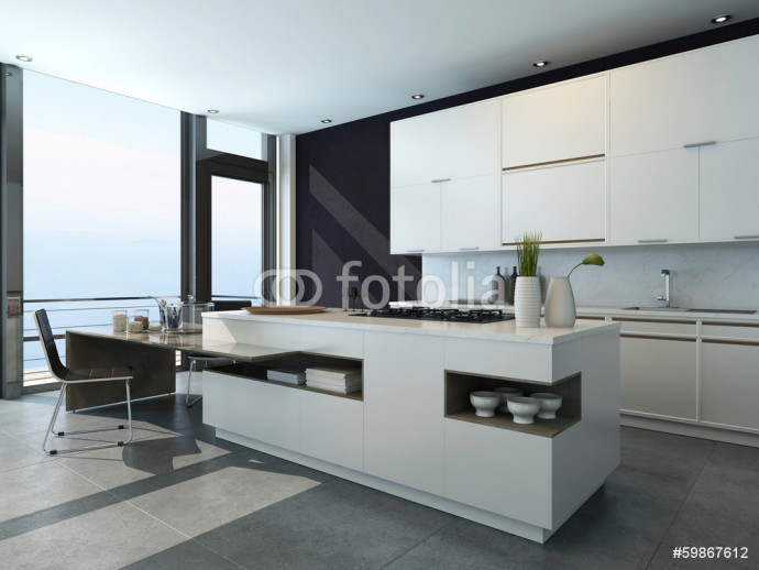 Modern design kitchen interior 64238