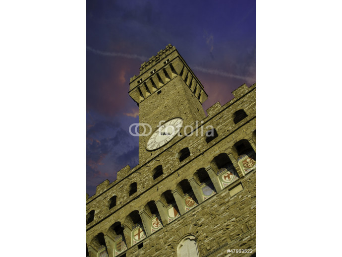 Bottom-Up view of Piazza della Signoria in Florence 64238