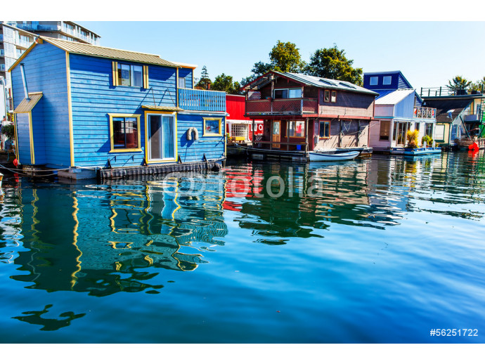 Wallpaper Floating Home Village Houseboats Inner Harbor Victoria 64238