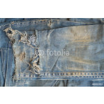 Old jeans trousers. 64238