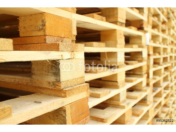 Wood pallet in factory 64238