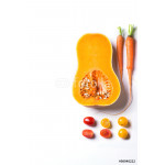 Set of red, orange and yellow vegetables 64238