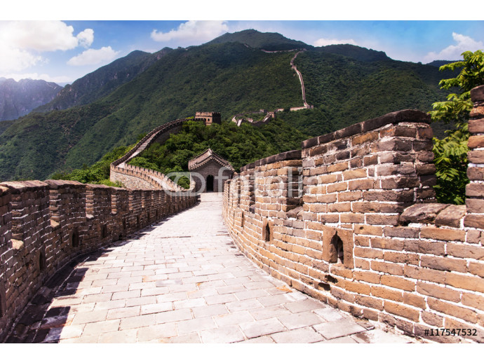 The Great wall of China: 7 womder of the world. 64238