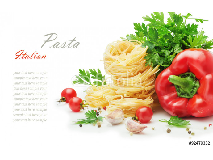 Ingredients for cooking pasta 64238