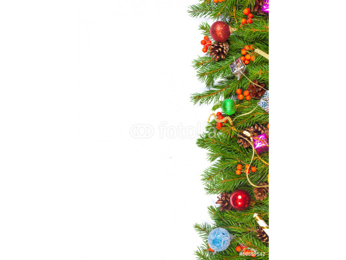 Vliestapete Christmas background. Eve framework 64238