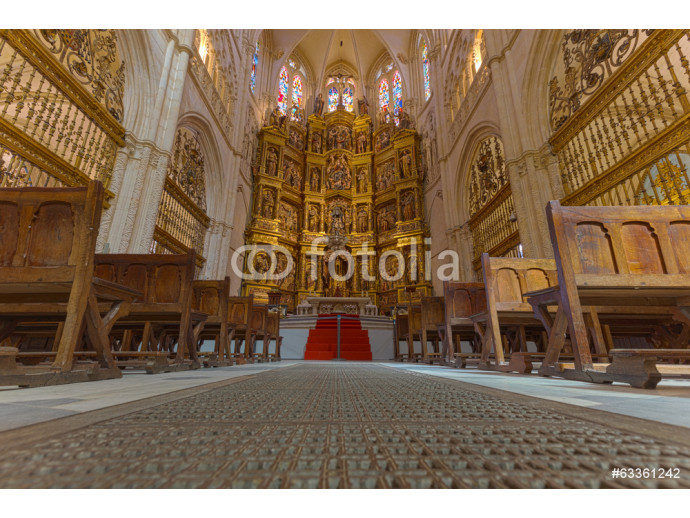 Burgos Cathedral, the Altar, a Spanish World Heritage 64238