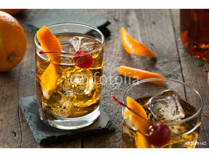 Homemade Old Fashioned Cocktail 64238