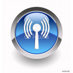 WLAN glossy icon 64238