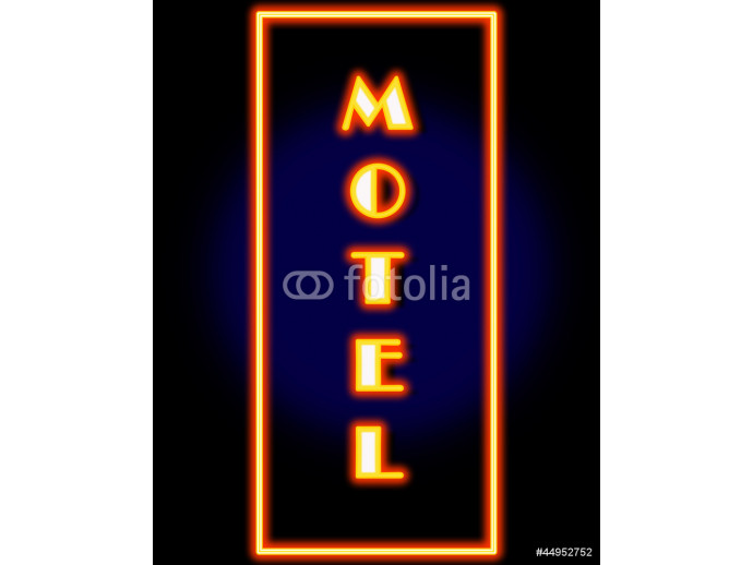 Fototapeta Motel Sign 64238