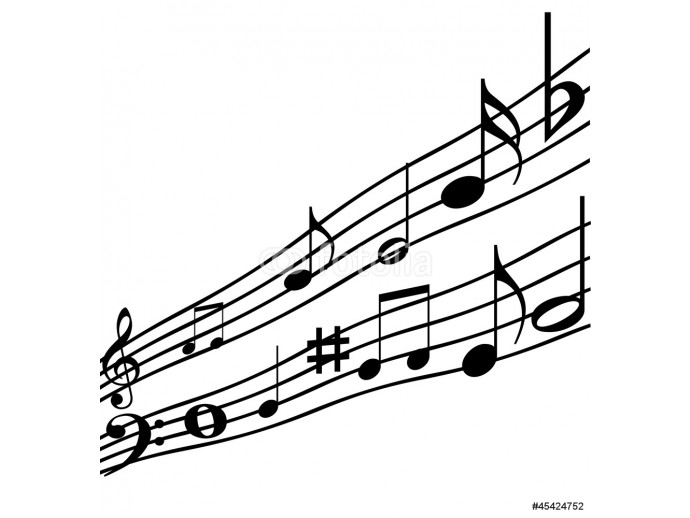 Music notes. 64238