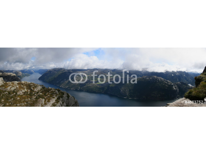 View on the Lysefjord, Norway 64238