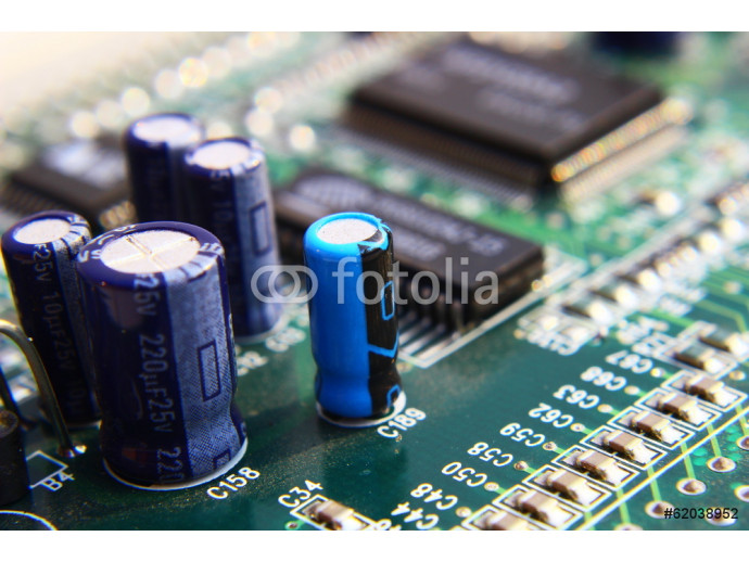 Wallpaper Printed Circuit Components. 64238