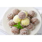 Chocolate coconut truffles 64238