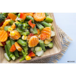 Frozen vegetables. 64238