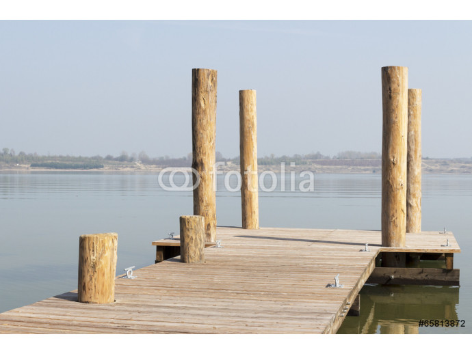 Boat dock on the lake 64238