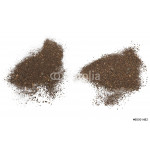 set pile dirt isolated on white background with clipping path 64238