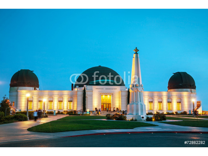 Vliestapete Griffith observatory in Los Angeles 64238